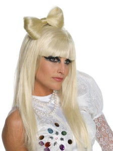 perruque noeud Lady Gaga