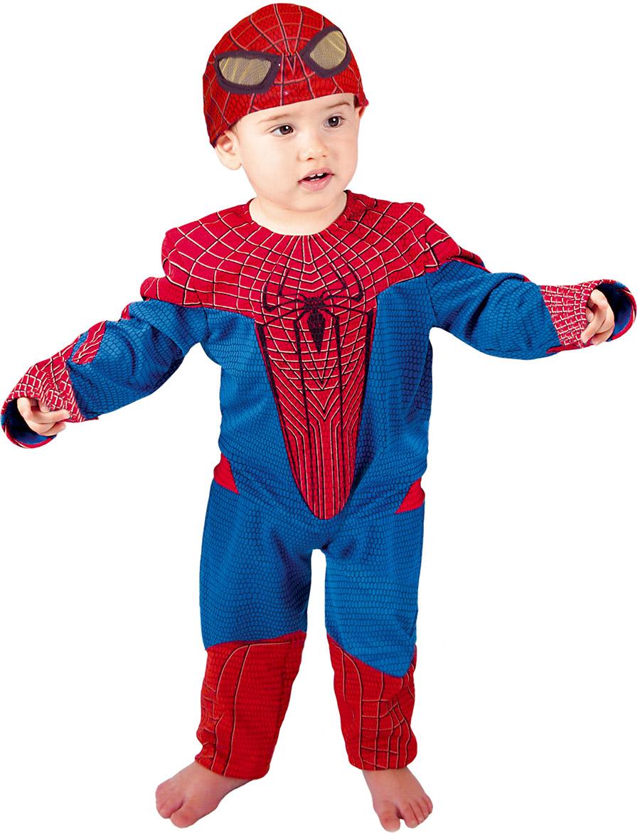 d guisement spiderman b b costume enfant pas cher super h ros. Black Bedroom Furniture Sets. Home Design Ideas