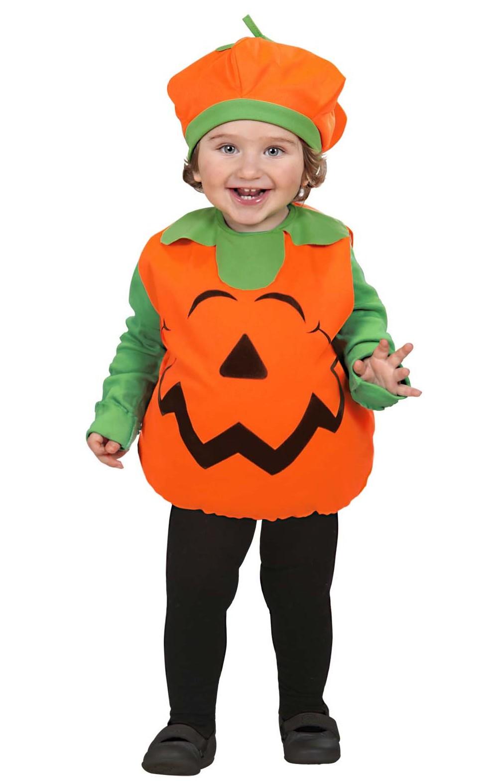 D guisement citrouille b b costume halloween pas cher pour enfant - Deguisement de citrouille ...