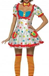 déguisement de clown femme