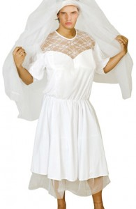 déguisement de mariée pour homme