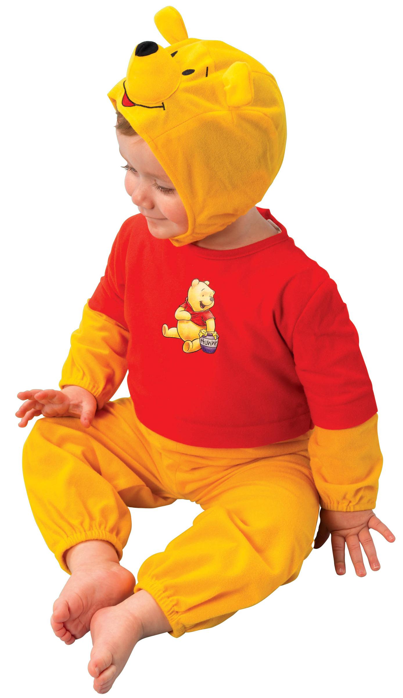 d guisement winnie l 39 ourson b b costume disney pas cher pour enfant. Black Bedroom Furniture Sets. Home Design Ideas