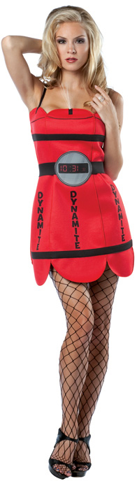 d guisement dynamite femme costume bombe d guisement original pas cher. Black Bedroom Furniture Sets. Home Design Ideas