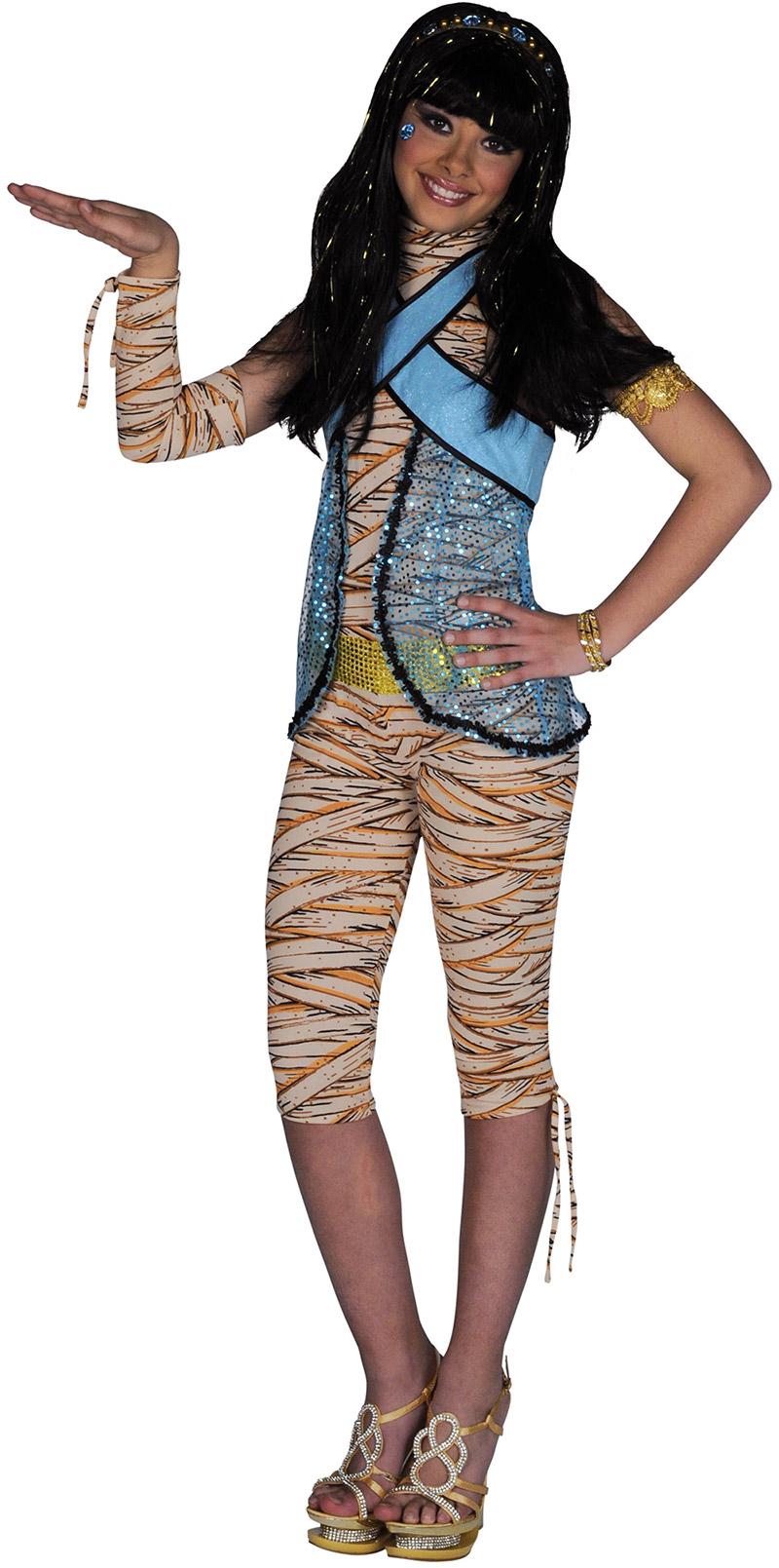 Déguisement Cleo De Nile Monster High Costume Adolescente Pas