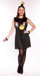 Déguisement Bomb Black Bird pour femme Angry Birds