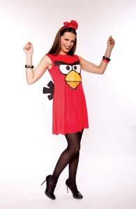 Déguisement Red Bird pour femme Angry Birds