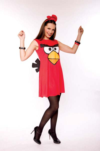 d guisement red bird pour femme costume angry birds. Black Bedroom Furniture Sets. Home Design Ideas