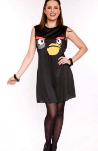 d guisement red bird costume angry birds pas cher soir e th me jeux vid o. Black Bedroom Furniture Sets. Home Design Ideas