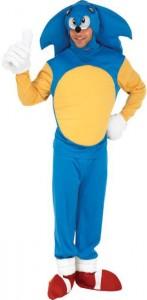 déguisement Sonic adulte