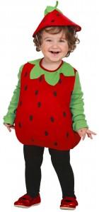 déguisement fraise pour bébé