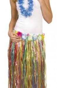 jupe hawaienne femme