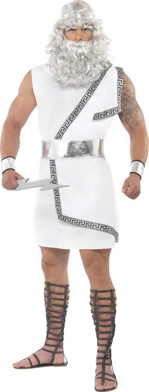 D guisement zeus homme costume dieu grec pas cher - Deguisement dieu grec ...
