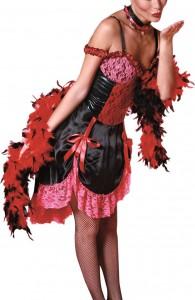 Déguisement cabaret burlesque femme