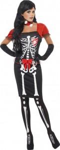 Déguisement squelette pour femme