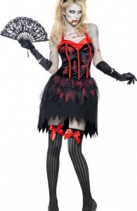 Déguisement zombie burlesque